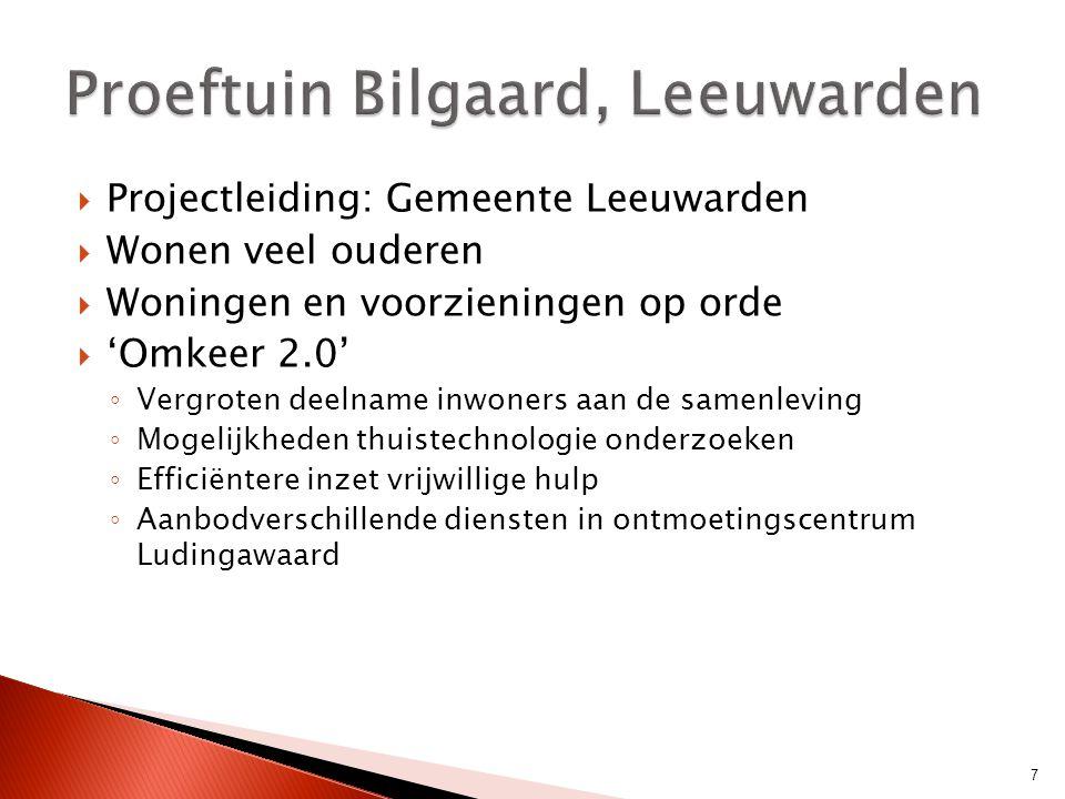 Proeftuin Bilgaard, Leeuwarden