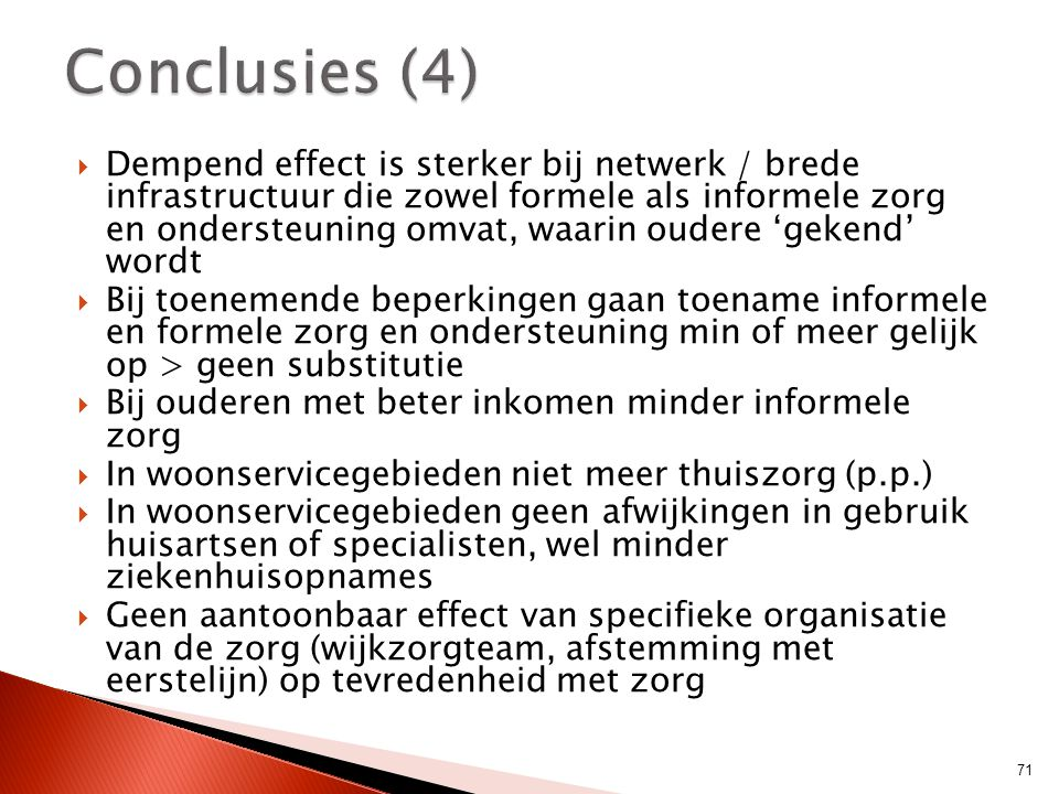 Conclusies (4)