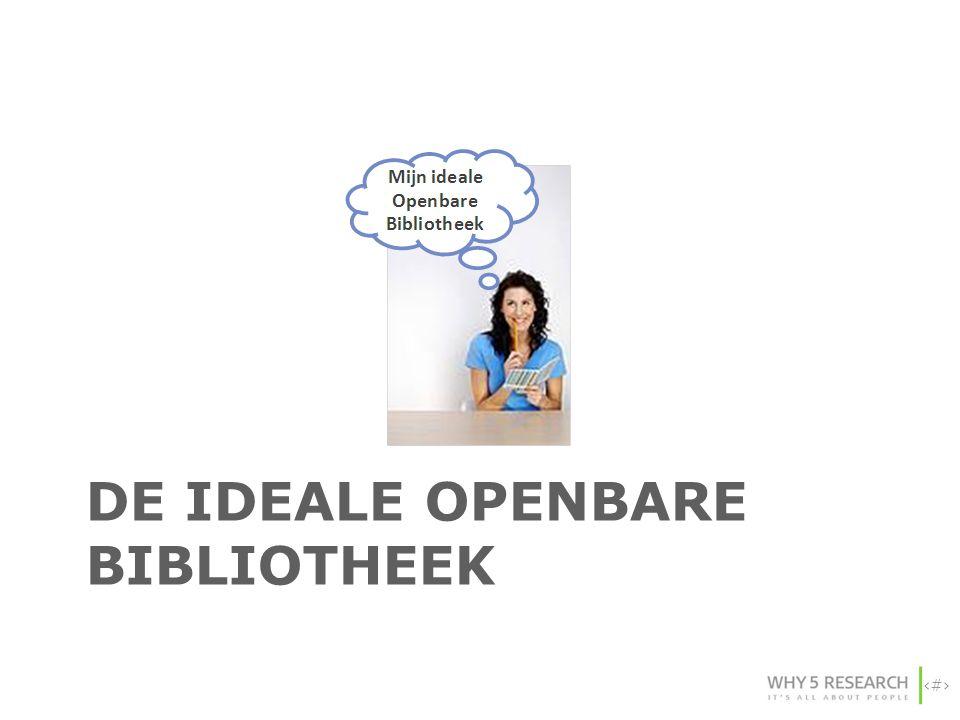 De ideale OPENBARE BIBLIOTHEEK