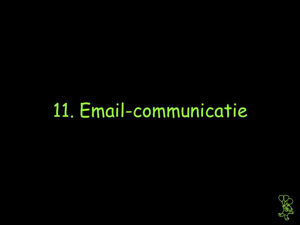 11. Email-communicatie