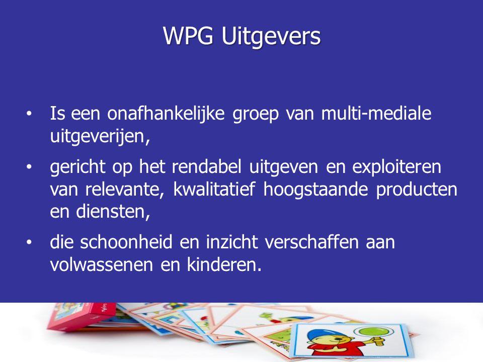 WPG Uitgevers Is een onafhankelijke groep van multi-mediale uitgeverijen,