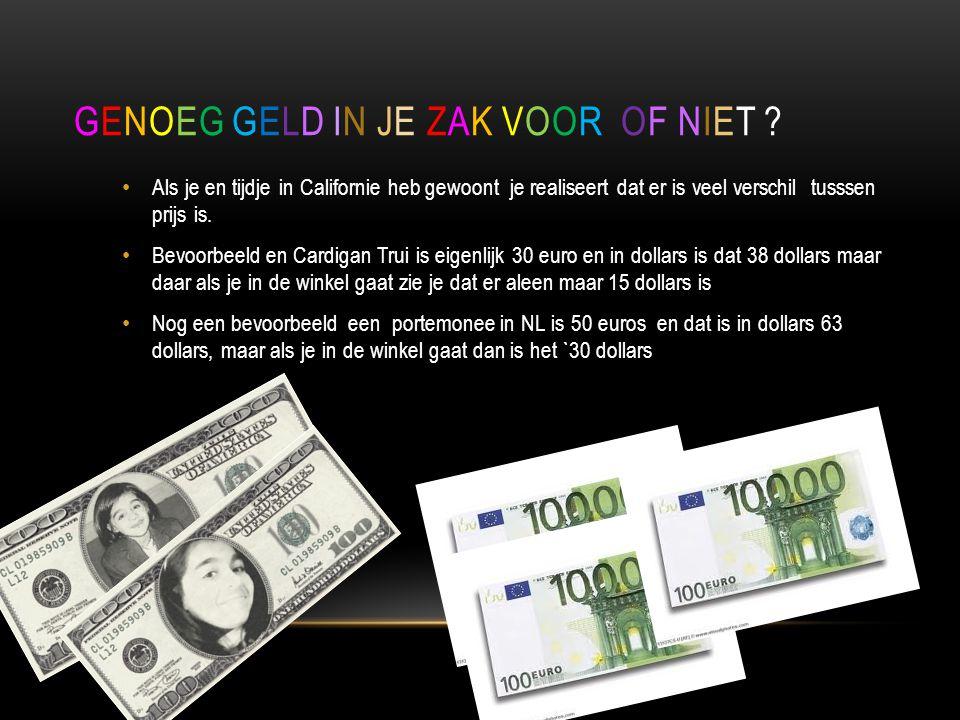 Genoeg geld in je zak voor of niet