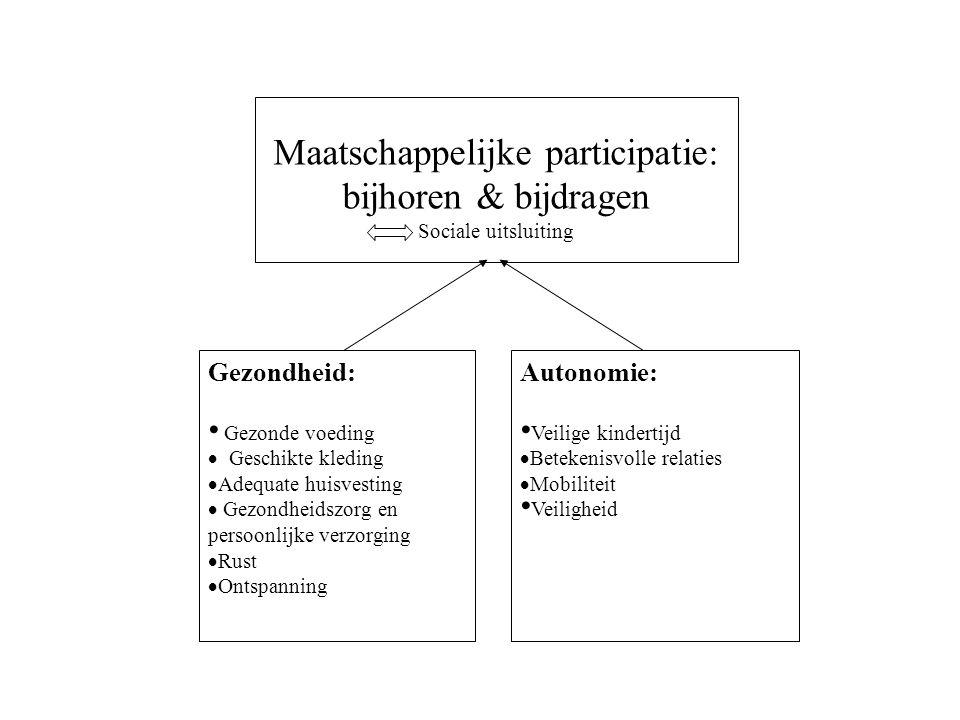 Maatschappelijke participatie: bijhoren & bijdragen