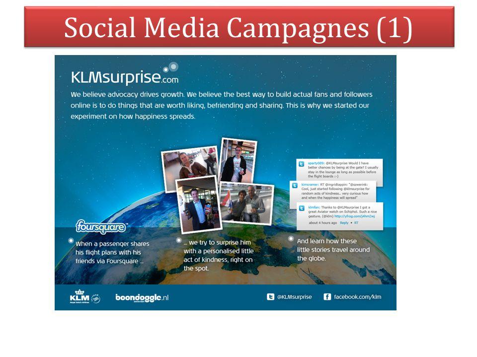 Social Media Campagnes (1)
