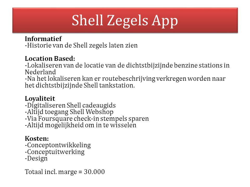 Shell Zegels App