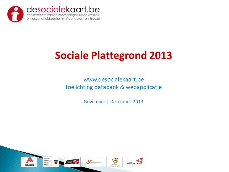 toelichting databank & webapplicatie