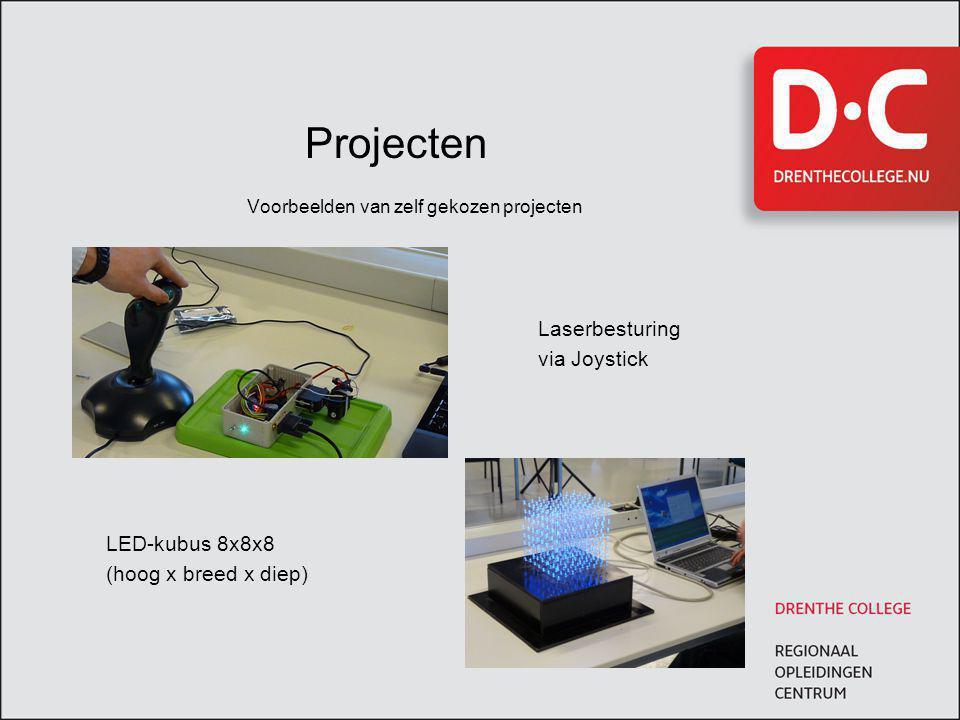 Voorbeelden van zelf gekozen projecten