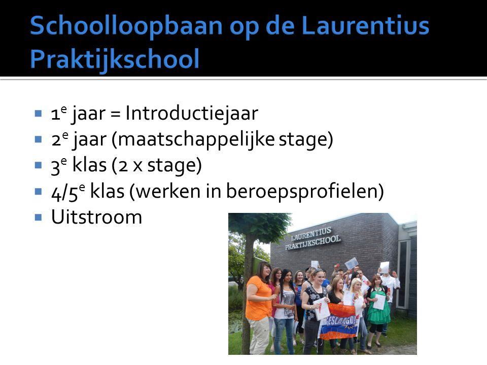 Schoolloopbaan op de Laurentius Praktijkschool