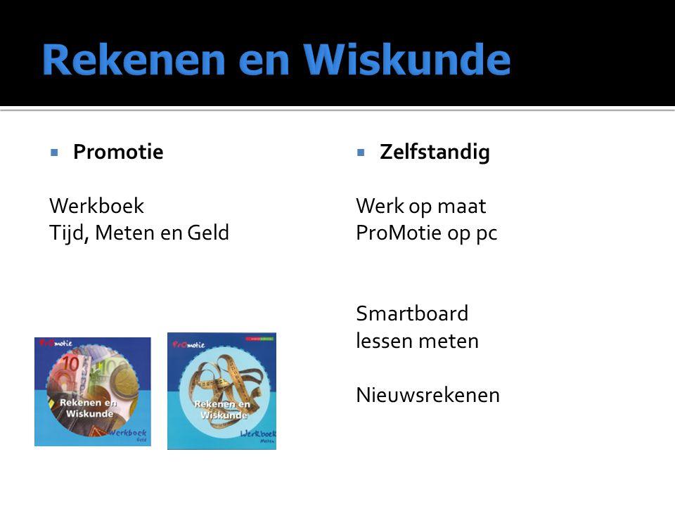 Rekenen en Wiskunde Promotie Werkboek Tijd, Meten en Geld Zelfstandig