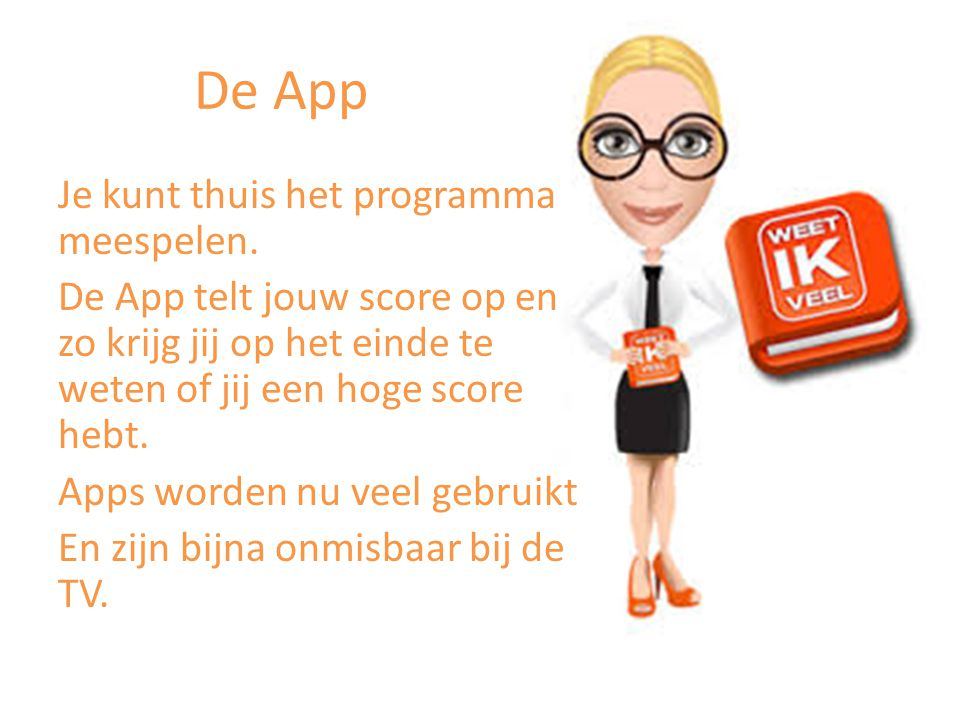 De App