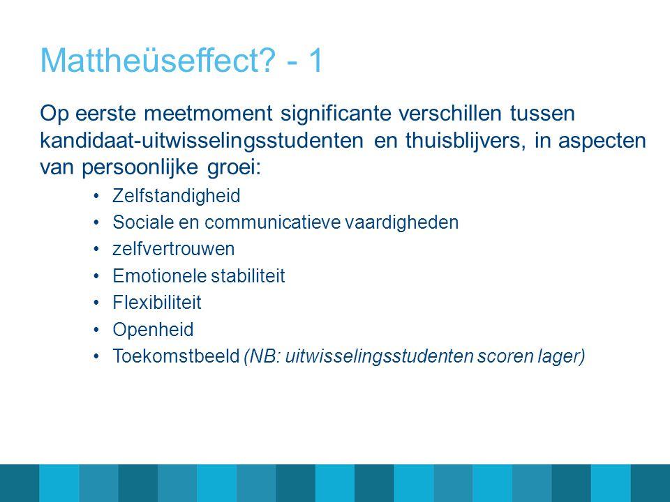 Mattheüseffect - 1