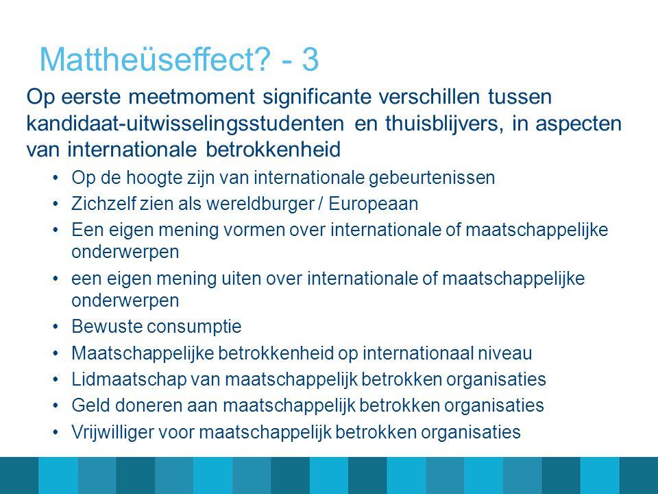 Mattheüseffect - 3