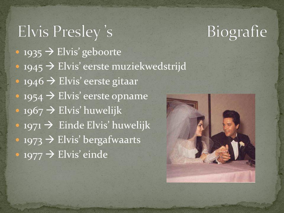 Elvis Presley 's Biografie