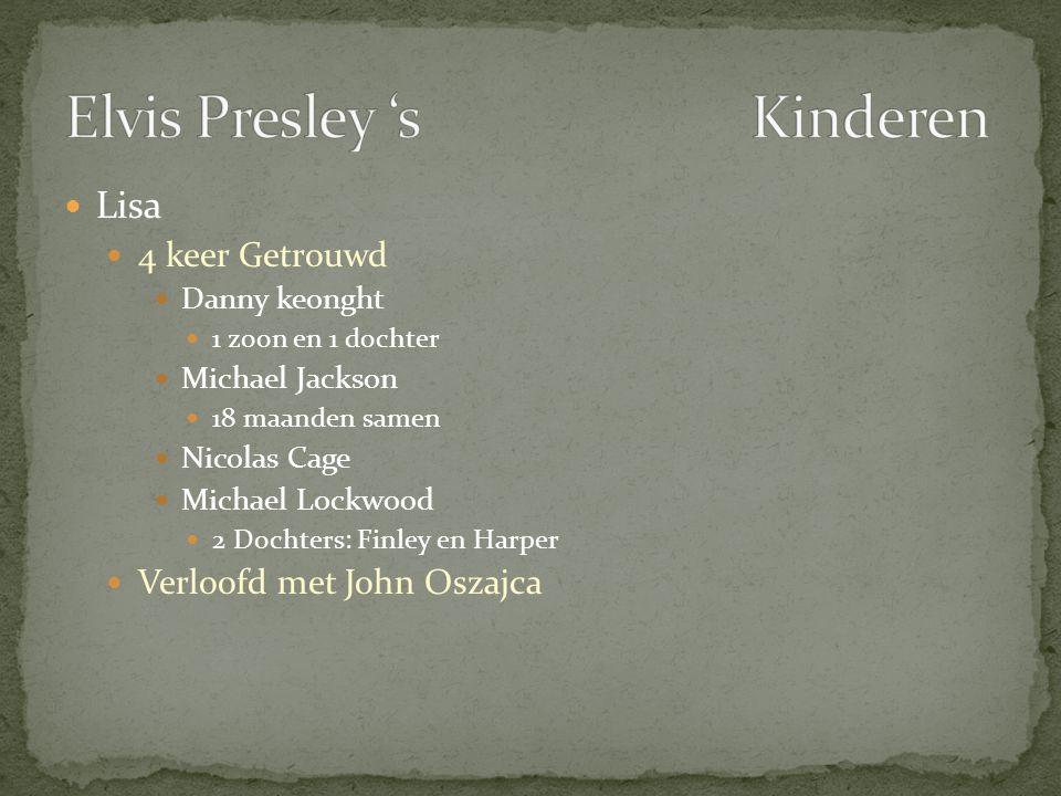 Elvis Presley 's Kinderen