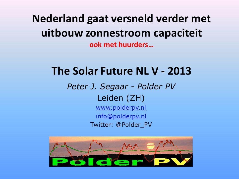 Peter J. Segaar - Polder PV
