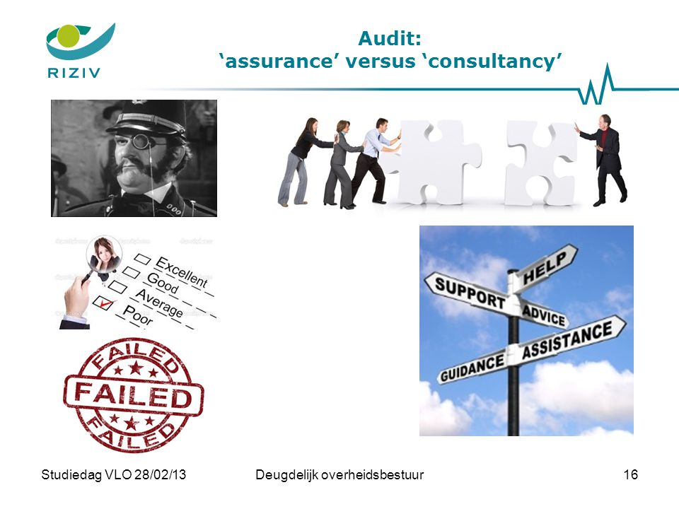 Audit: 'assurance' versus 'consultancy'