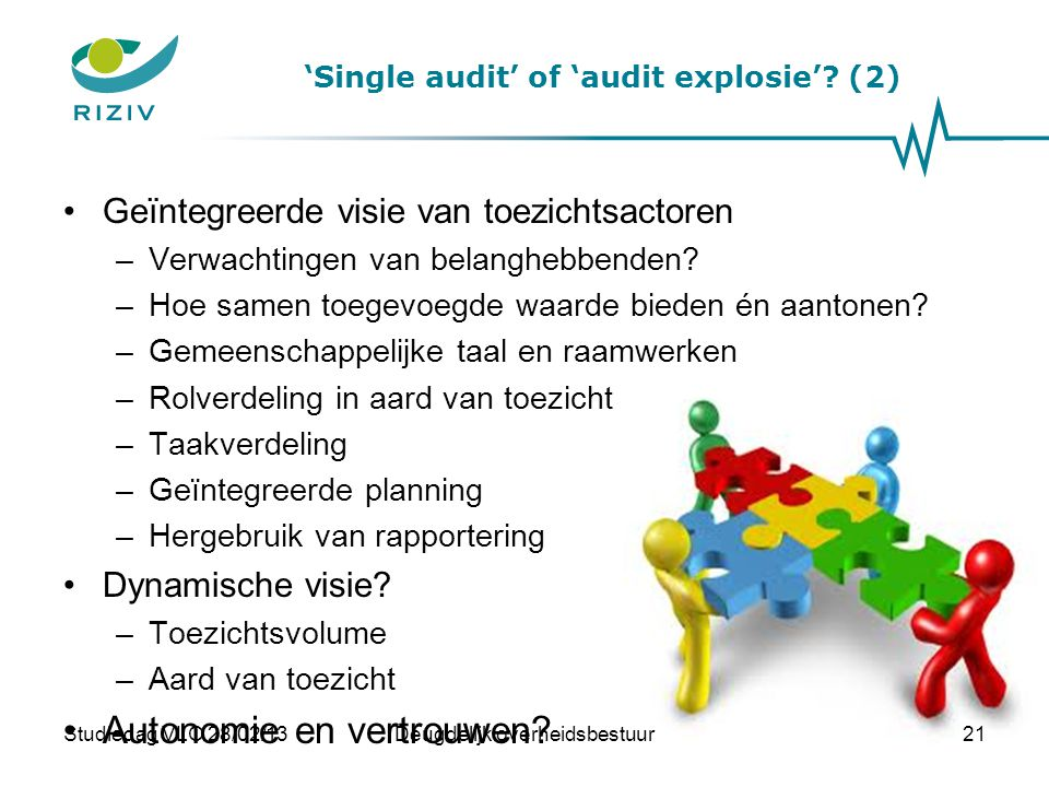 'Single audit' of 'audit explosie' (2)