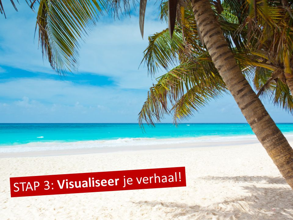 STAP 3: Visualiseer je verhaal!