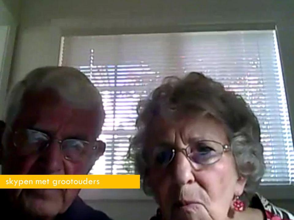 skypen met grootouders