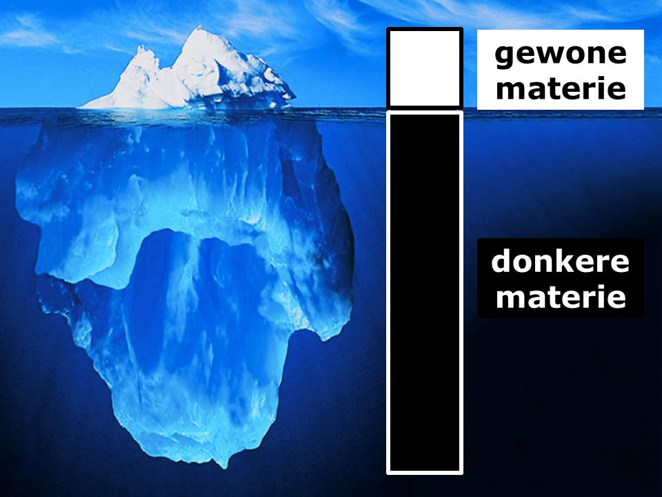 gewone materie donkere materie