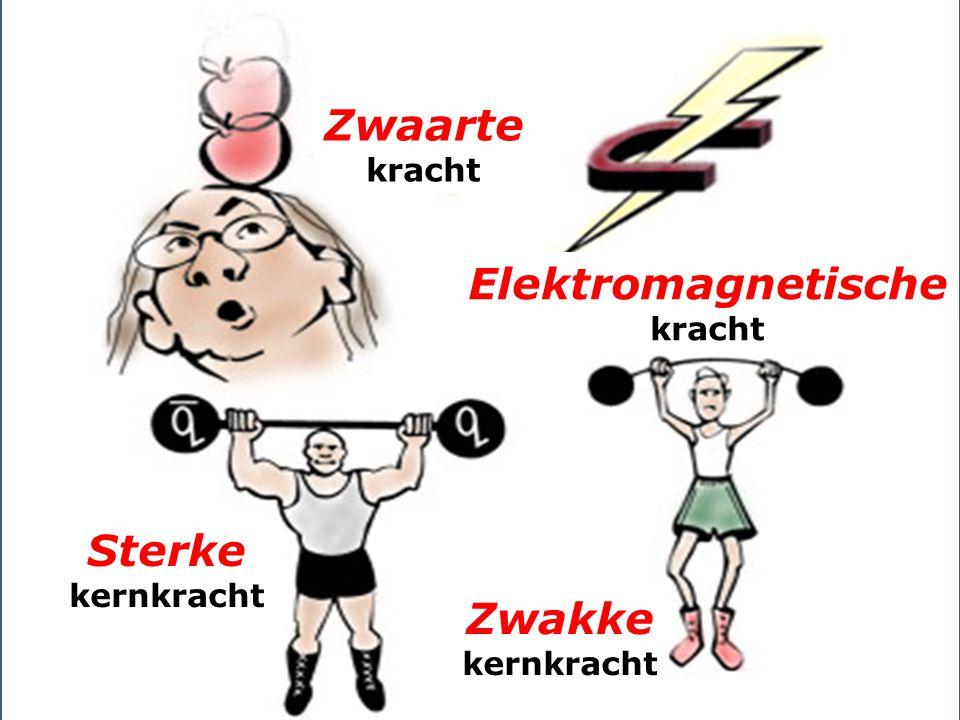 Zwaarte Elektromagnetische Sterke Zwakke