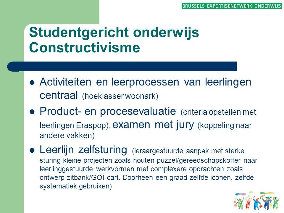 Studentgericht onderwijs Constructivisme