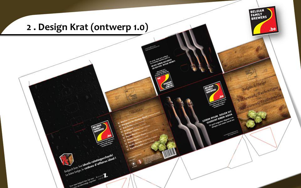 2 . Design Krat (ontwerp 1.0)