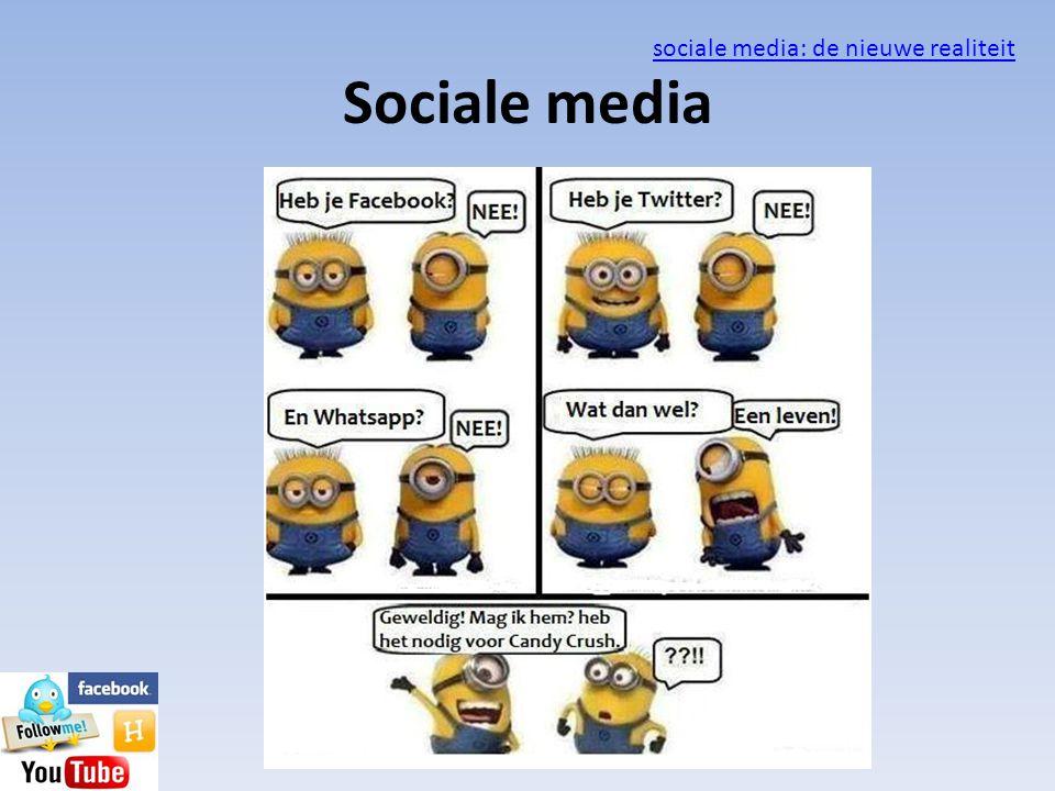 sociale media: de nieuwe realiteit
