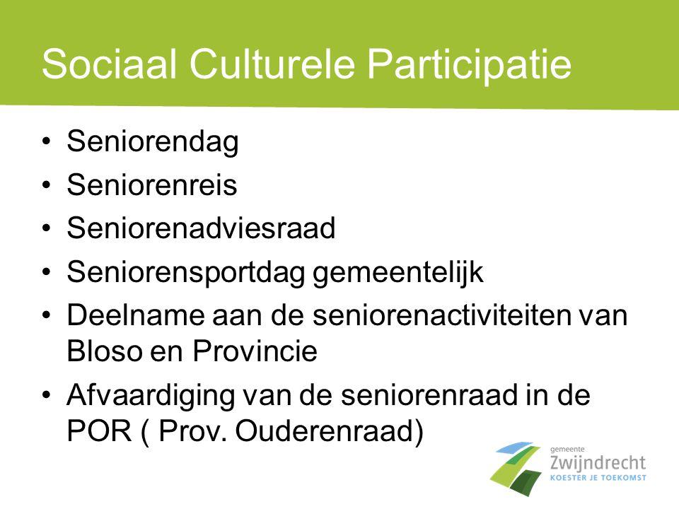Sociaal Culturele Participatie