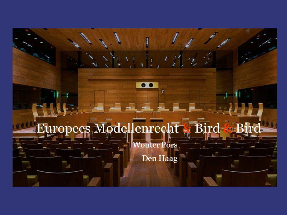 Europees Modellenrecht & Bird & Bird