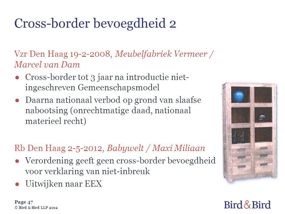Cross-border bevoegdheid 2
