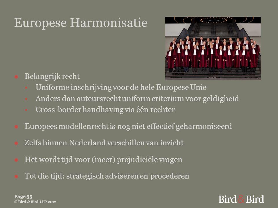 Europese Harmonisatie