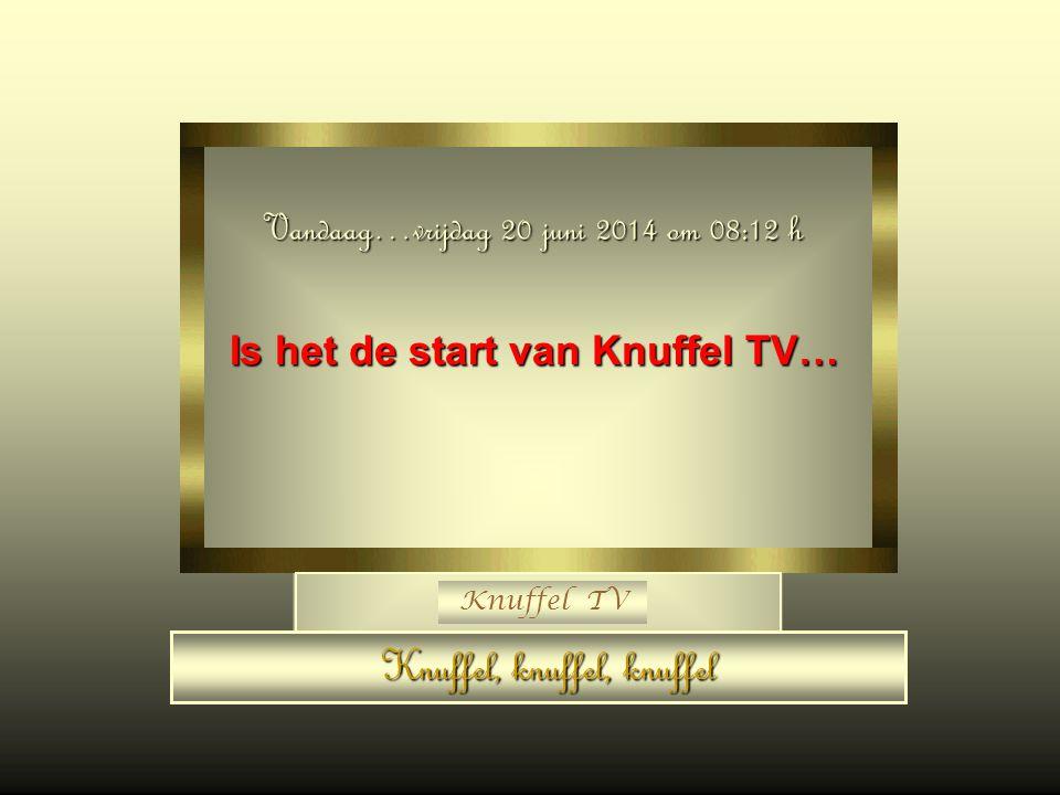 Is het de start van Knuffel TV…