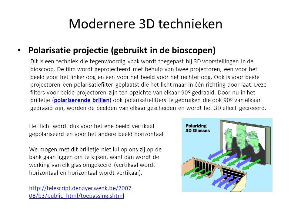 Modernere 3D technieken