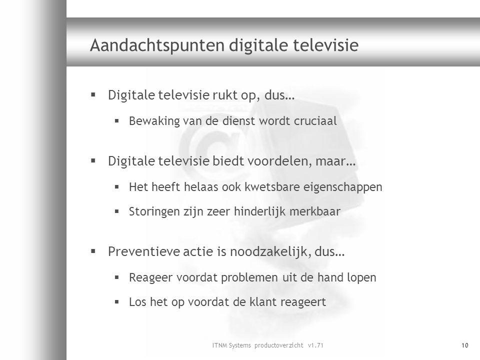 Aandachtspunten digitale televisie