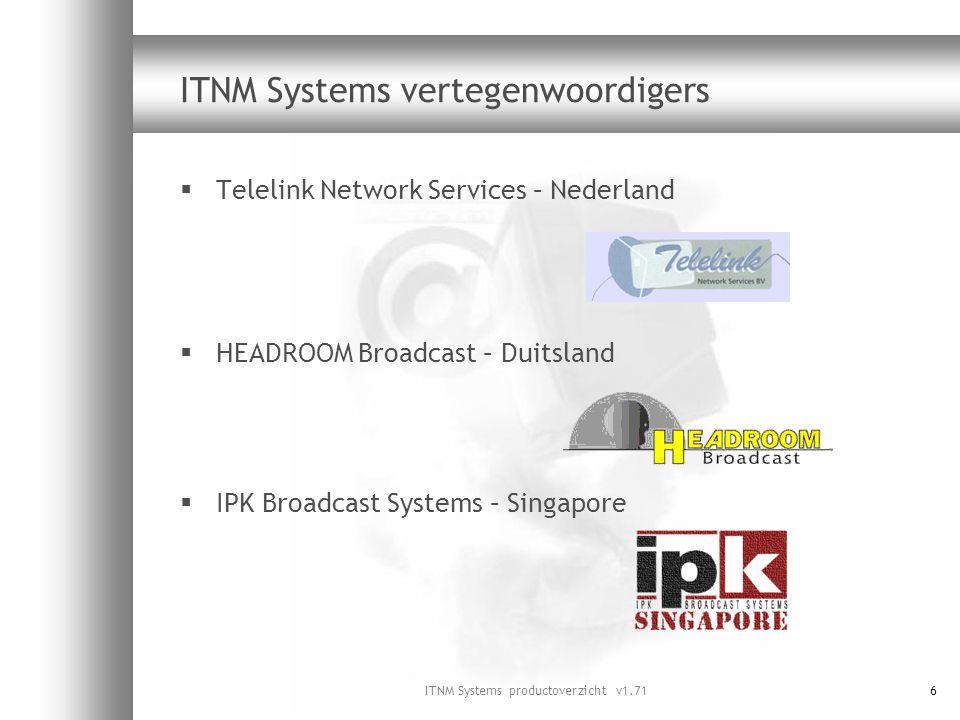 ITNM Systems vertegenwoordigers
