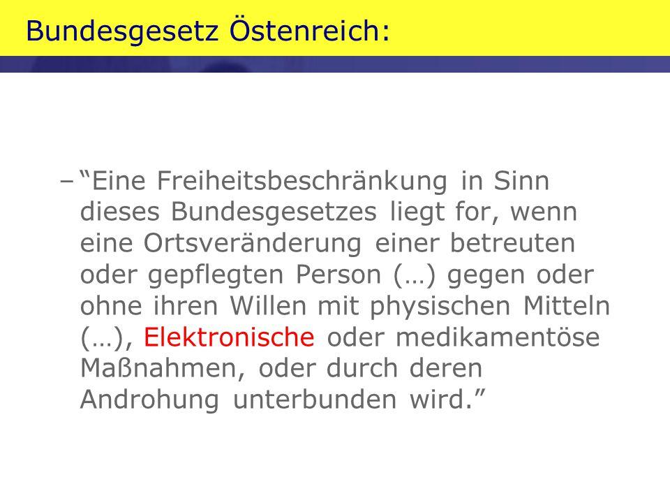 Bundesgesetz Östenreich: