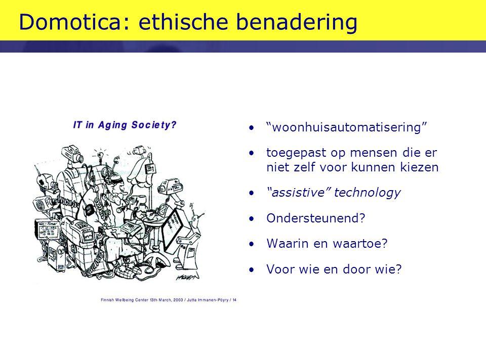 Domotica: ethische benadering