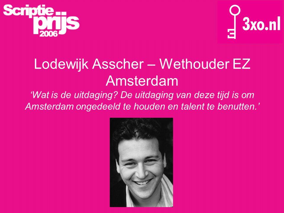Lodewijk Asscher – Wethouder EZ Amsterdam