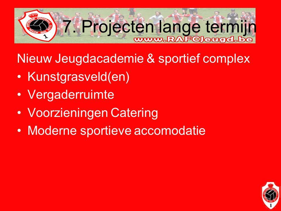 7. Projecten lange termijn