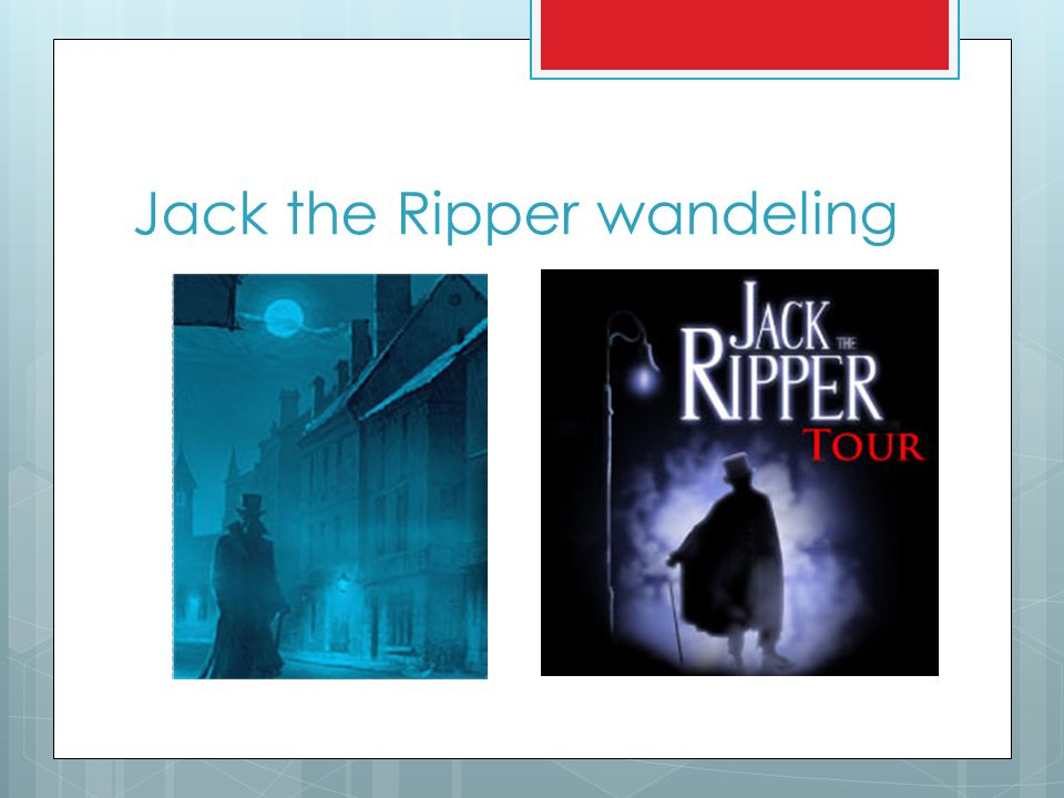 Jack the Ripper wandeling