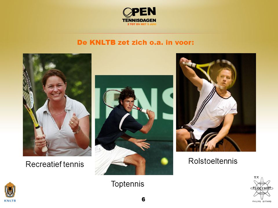 Rolstoeltennis Recreatief tennis Toptennis