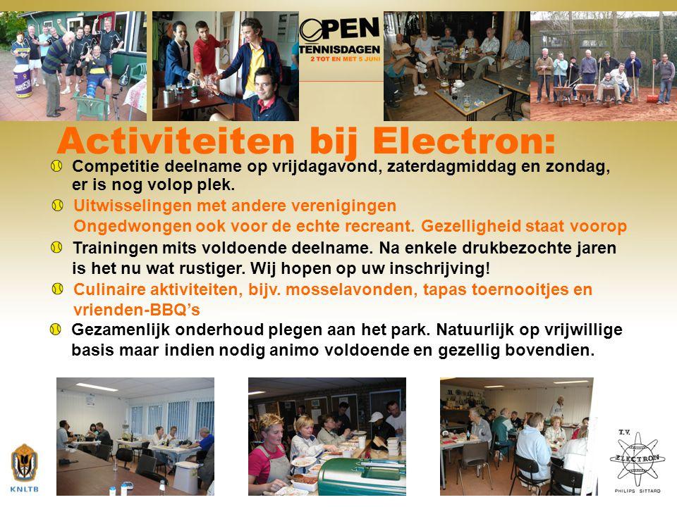 Activiteiten bij Electron: