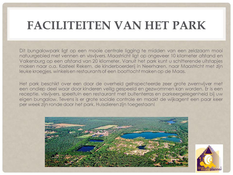 Faciliteiten van het park