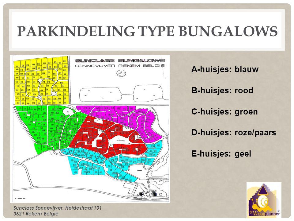 Parkindeling type bungalows