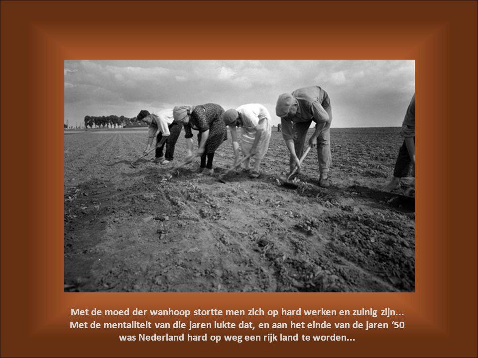 was Nederland hard op weg een rijk land te worden...