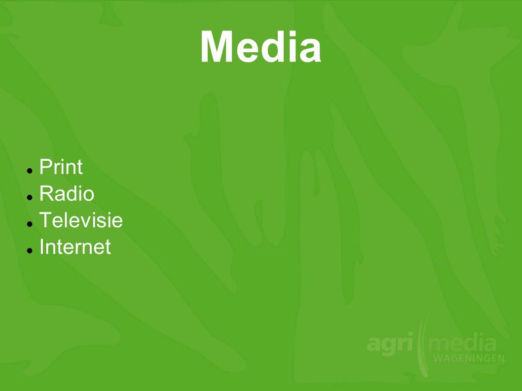 Print Radio Televisie Internet