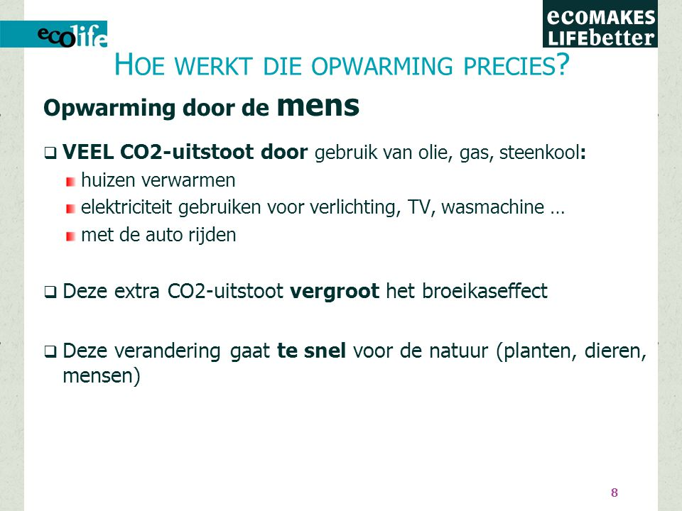 De CO2-uitstoot stijgt