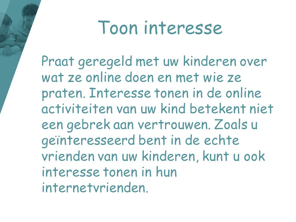 Toon interesse