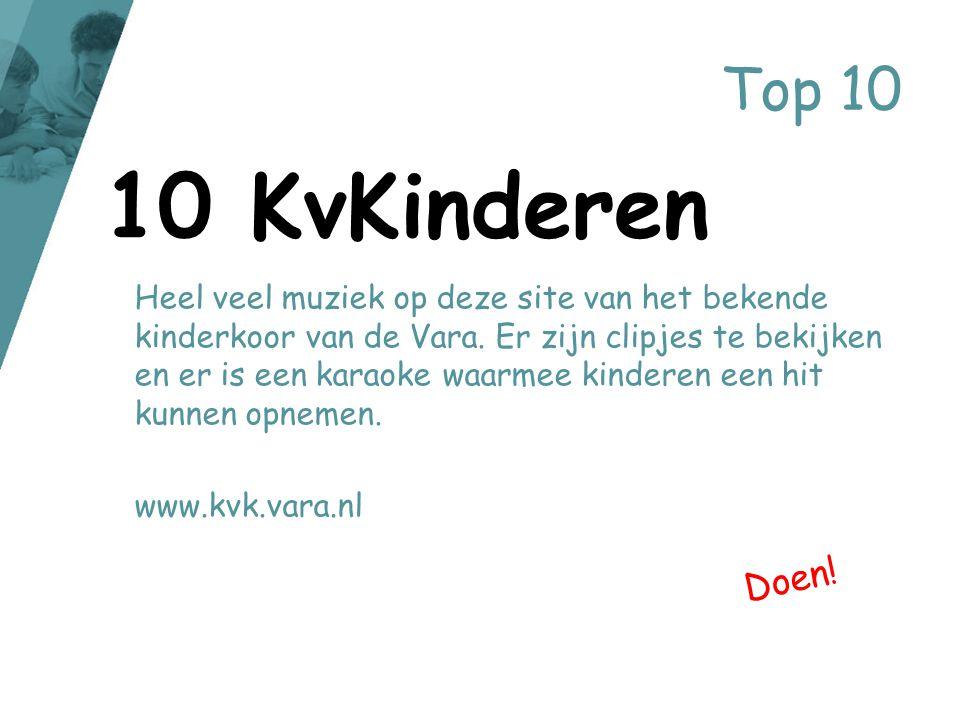 Top 10 10 KvKinderen.